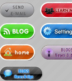 Generador De Menu Flash Desplegable Navigations Buttons Download