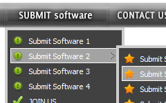 Dynamic Java Tab Menu Different Html Button Templates