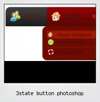 3state Button Photoshop