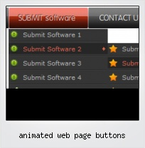 Animated Web Page Buttons
