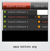 Aqua Buttons Png