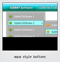 Aqua Style Buttons
