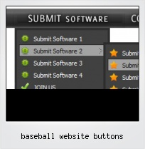 Baseball Website Buttons