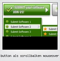 Button Als Scrollbalken Mouseover