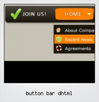 Button Bar Dhtml