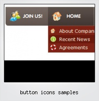 Button Icons Samples