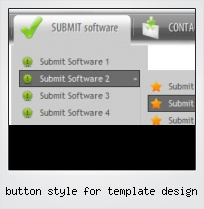 Button Style For Template Design