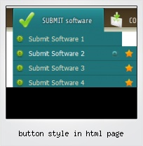 Button Style In Html Page