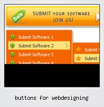Buttons For Webdesigning