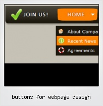 Buttons For Webpage Design