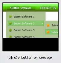 Circle Button On Webpage