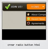 Crear Radio Button Html