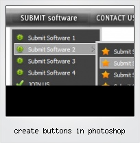 Create Buttons In Photoshop