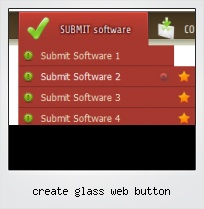 Create Glass Web Button