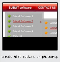 Create Html Buttons In Photoshop