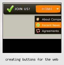 Creating Buttons For The Web