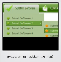 Creation Of Button In Html