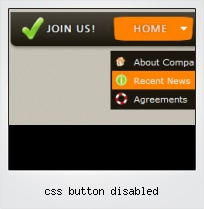 Css Button Disabled