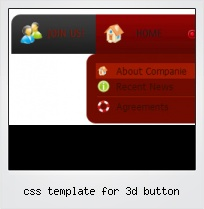 Css Template For 3d Button