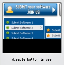 Disable Button In Css