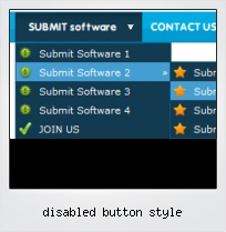 Disabled Button Style