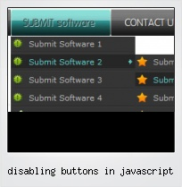 Disabling Buttons In Javascript