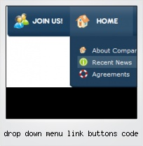 Drop Down Menu Link Buttons Code