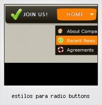 Estilos Para Radio Buttons