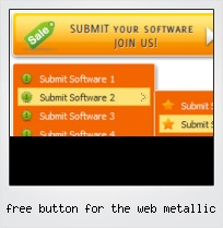 Free Button For The Web Metallic