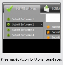 Free Navigation Buttons Templates