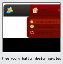 Free Round Button Design Samples