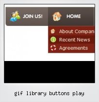 Gif Library Buttons Play