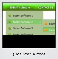Glass Hover Buttons