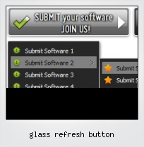 Glass Refresh Button