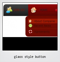 Glass Style Button