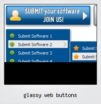 Glassy Web Buttons