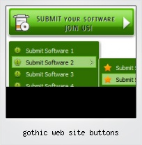 Gothic Web Site Buttons
