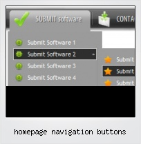 Homepage Navigation Buttons