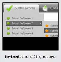 Horizontal Scrolling Buttons