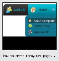 How To Creat Fancy Web Page Buttons