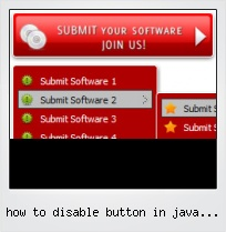 How To Disable Button In Java Applet