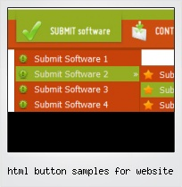 Html Button Samples For Website