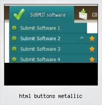 Html Buttons Metallic
