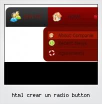 Html Crear Un Radio Button