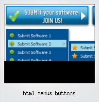 Html Menus Buttons