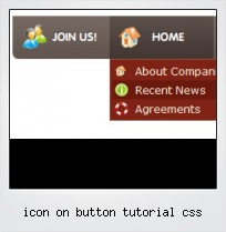Icon On Button Tutorial Css