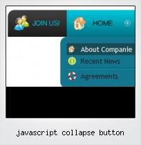 Javascript Collapse Button