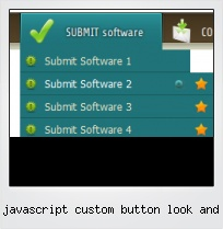 Javascript Custom Button Look And