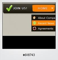 Javascript Menü Button