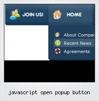 Javascript Open Popup Button